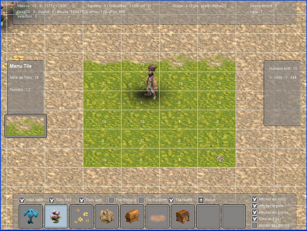 Arkeos Chronicle / 3 Arks -  Aventure RPG (moteur 2D iso) Editor0.3.0