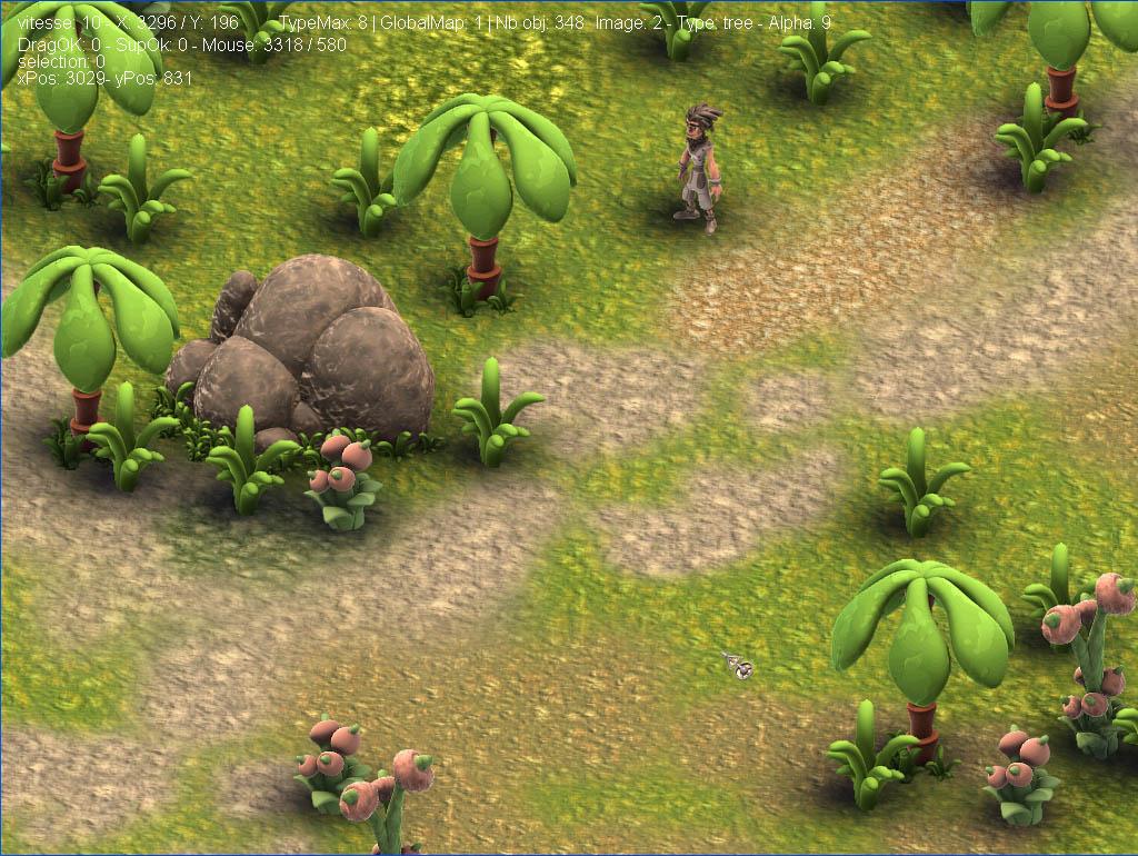 Arkeos Chronicle / 3 Arks -  Aventure RPG (moteur 2D iso) Editor01
